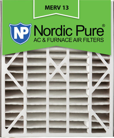 20x25x5 Air Bear Replacement MERV 13 Qty 4 - Nordic Pure