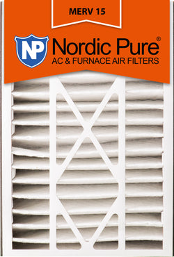 16x25x5 Air Bear Replacement MERV 15 Qty 2 - Nordic Pure