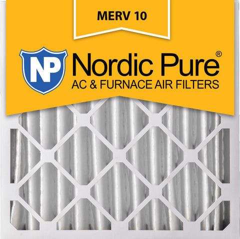 24x24x4 Pleated MERV 10 AC Furnace Filters Qty 1 - Nordic Pure