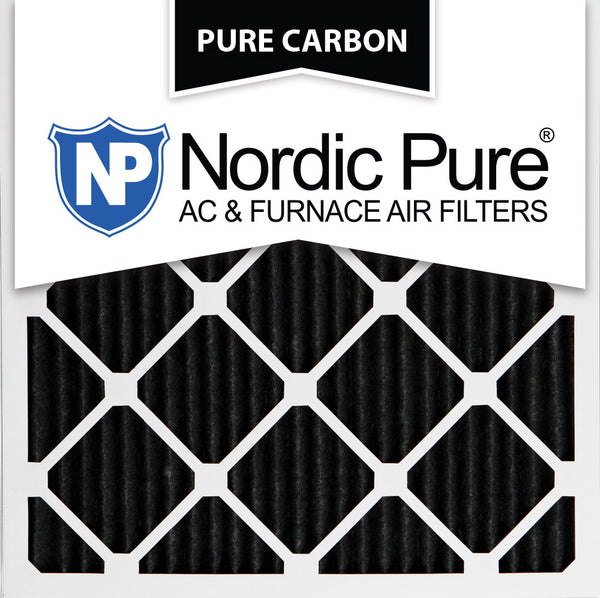 10x10x1 Pure Carbon Pleated AC Furnace Filters Qty 6 - Nordic Pure