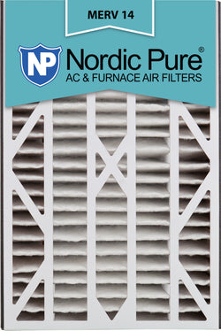 16x25x3 Air Bear Cub Replacement MERV 14 Qty 7 - Nordic Pure