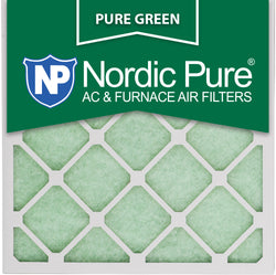 12x12x1 Pure Green AC Furnace Air Filters Qty 3 - Nordic Pure