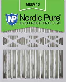 16x20x5 Honeywell Replacement Pleated MERV 13 Qty 2 - Nordic Pure