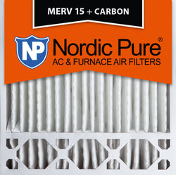 20x20x5 Honeywell Replacement MERV 15 Plus Carbon Qty 2 - Nordic Pure
