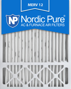 20x25x5 Honeywell Replacement Pleated MERV 12 Air Filters Qty 1 - Nordic Pure