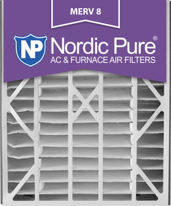 20x25x5 Air Bear Replacement MERV 8 Qty 2 - Nordic Pure