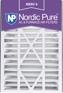 16x25x5 Air Bear Replacement MERV 8 Qty 4 - Nordic Pure