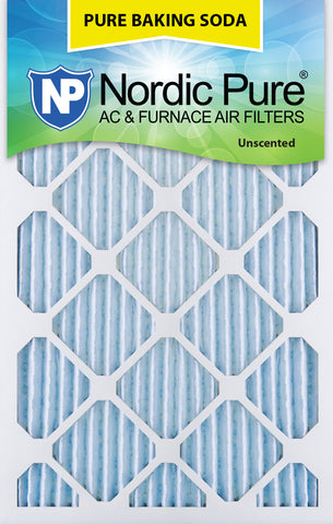 10x20x1 Pure Baking Soda AC Furnace Air Filters Qty 3 - Nordic Pure