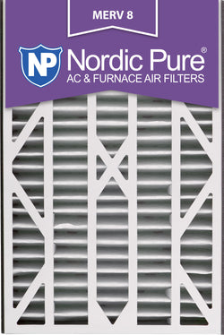 16x25x3 Air Bear Cub Replacement MERV 8 Qty 7 - Nordic Pure