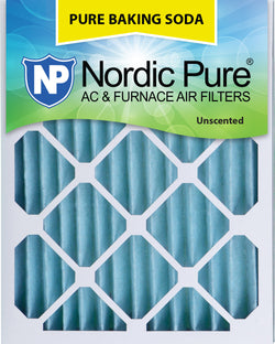 15x20x2 Pure Baking Soda AC Furnace Air Filters Qty 3 - Nordic Pure
