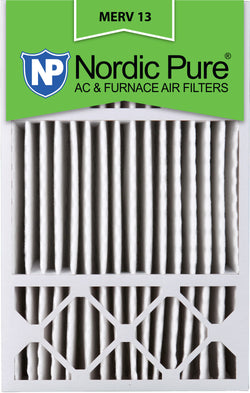 16x25x5 Honeywell Replacement Pleated MERV 13 Air Filters Qty 4 - Nordic Pure