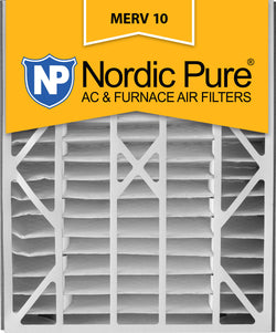 20x25x5 Air Bear Replacement MERV 10 Qty 2 - Nordic Pure