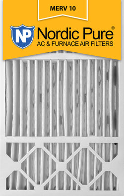 16x25x5 Honeywell Replacement Pleated MERV 10 Air Filters Qty 4 - Nordic Pure