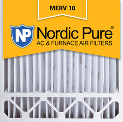 20x20x5 Honeywell Replacement Pleated MERV 10 Air Filters Qty 4 - Nordic Pure