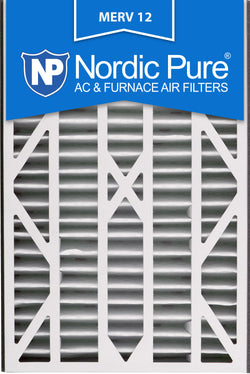 16x25x3 Air Bear Cub Replacement MERV 12 Qty 7 - Nordic Pure