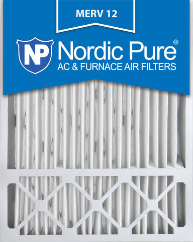 20x25x5 Lennox X6673_X6675 Replacement  Pleated MERV 12 Qty 1 - Nordic Pure