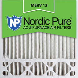 20x20x5 Honeywell Replacement Pleated MERV 13 Air Filters Qty 2 - Nordic Pure