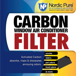 Carbon Window AC Filter 14x48 - Nordic Pure