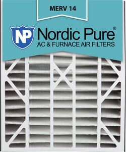 20x25x5 Air Bear Replacement MERV 14 Qty 4 - Nordic Pure
