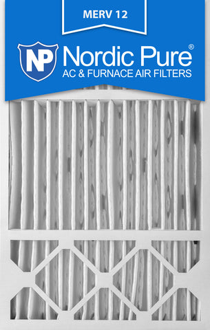 16x25x5 Honeywell Replacement Pleated MERV 12 Air Filters Qty 4 - Nordic Pure