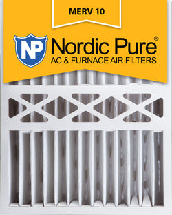 16x20x5 Honeywell Replacement Pleated MERV 10 Qty 2 - Nordic Pure