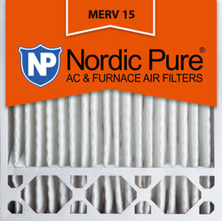 20x20x5 Honeywell Replacement Pleated MERV 15 Air Filters Qty 2 - Nordic Pure