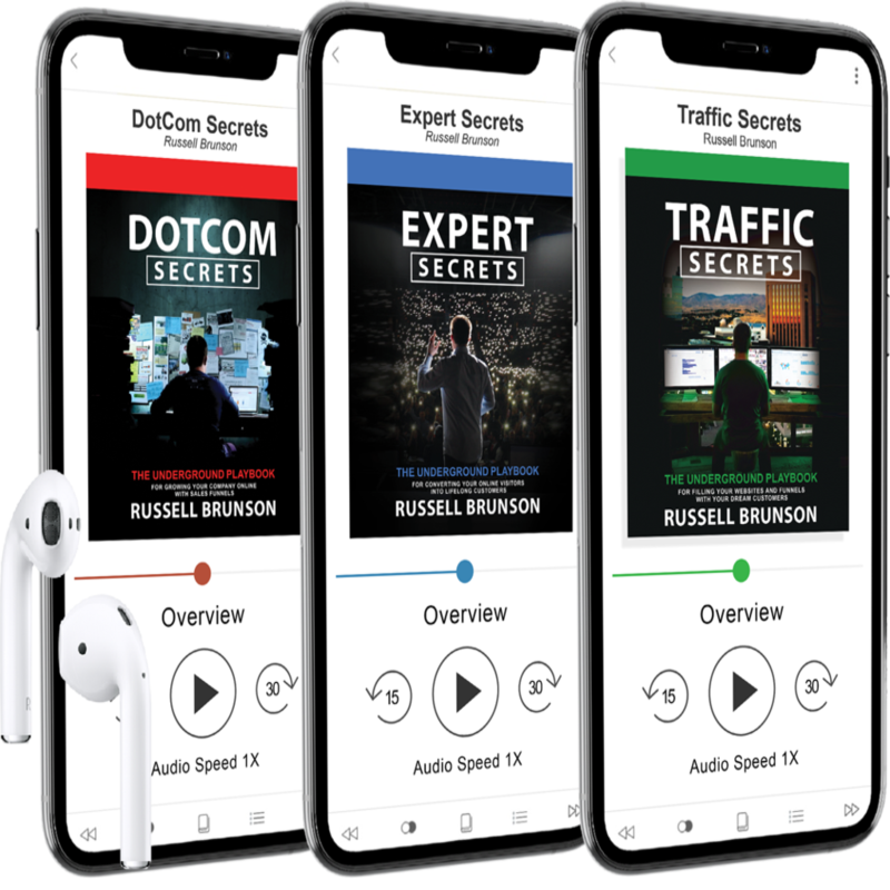 Traffic secrets, Dotcom Secrets Audio Book By Russell Brunson