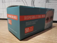 Disposable Civil Masks - minimum order - Box of 50 masks.