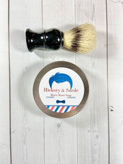 Shave Soap and Brush