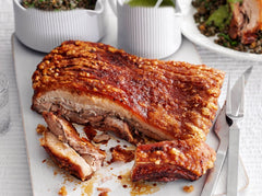 Free Range Pork Belly Roast Bone-In 1-2kg