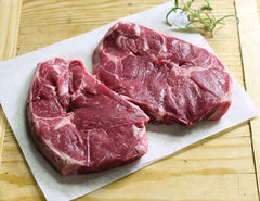Grass Fed Lamb Leg Steaks 500g