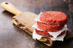 Grass Fed, Grass Finished Beef Hamburgers (Gluten Free)