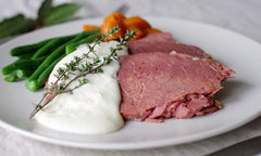 Grass Fed, Grass Finished Nirate Free Corned Silverside 1-1.5kg