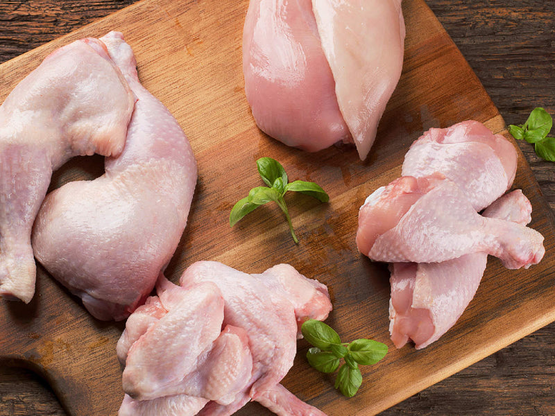 All Clucked Up. Our GMO-FREE chicken bulk pack.