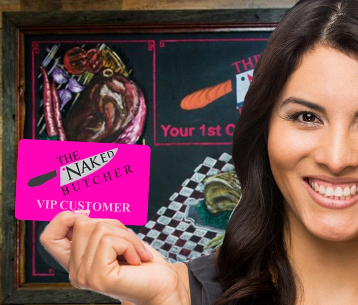 VIP Customer Discount Card
