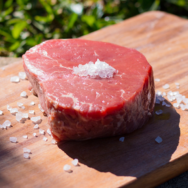 Organic Eye Fillet Steak 500g