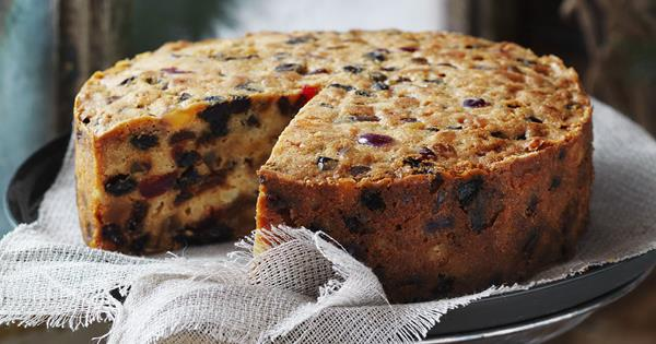 Christmas Fruit Cake (Gluten Free)