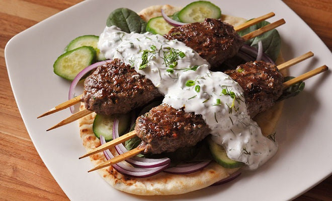 Grass Fed Lamb Kofta $5.00 ea