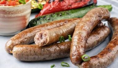 Grass Fed Lamb Mint and Rosemary Sausages 500g