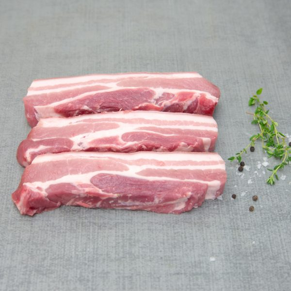 Local Free Range Pork Spare Ribs 12.49ea