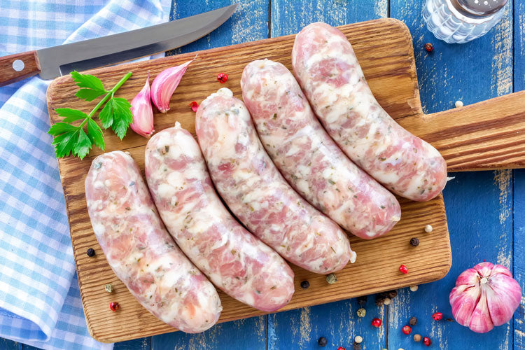 Free Range Pork Apple & Fennel Sausages 500g