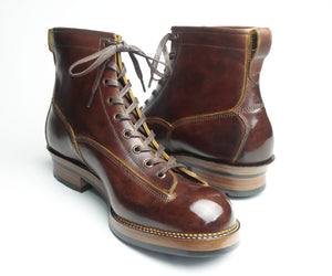 MTO - Lace to Toe Boot - 50% deposit