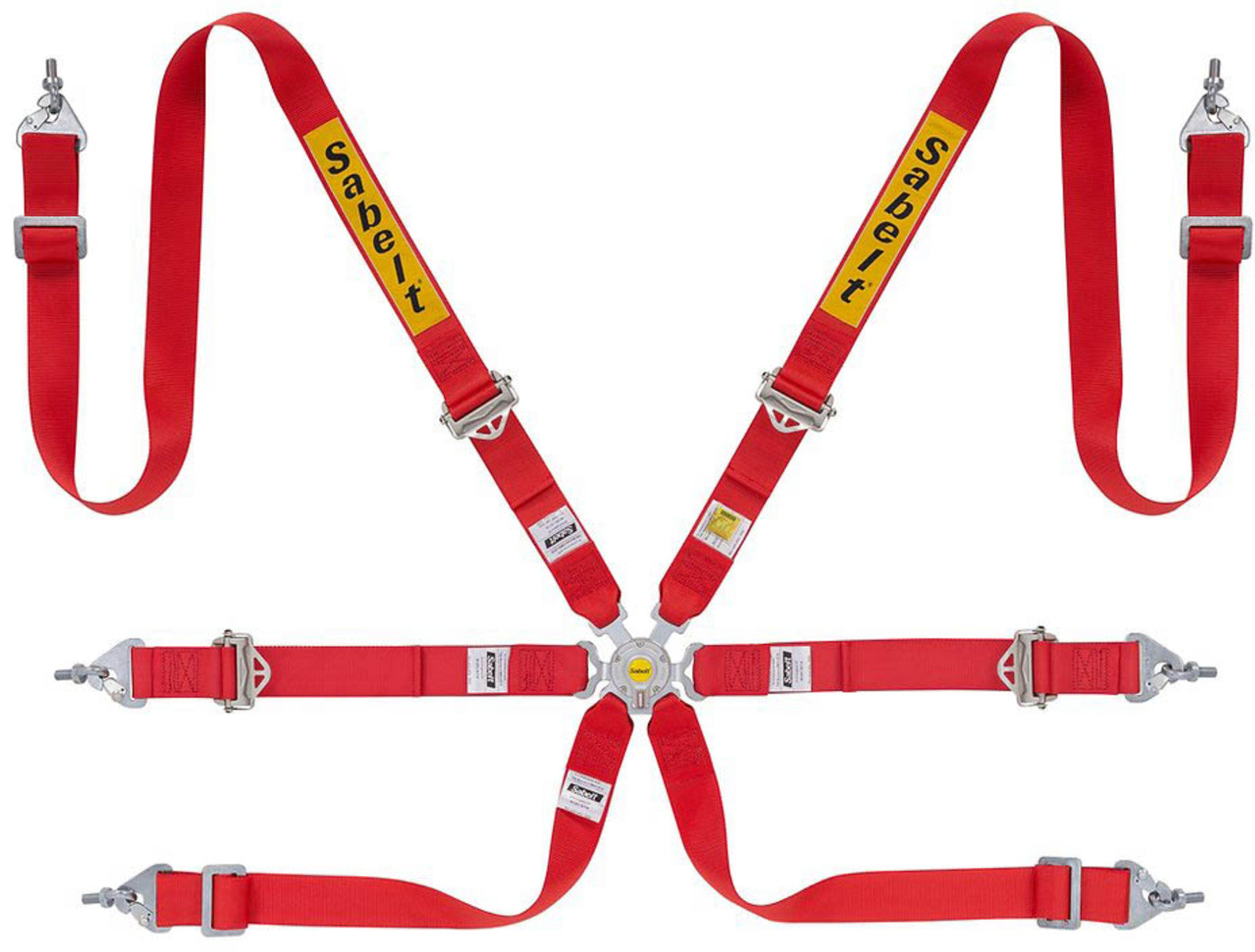 SABELT RACAING HARNESS 6 Point ENDURO