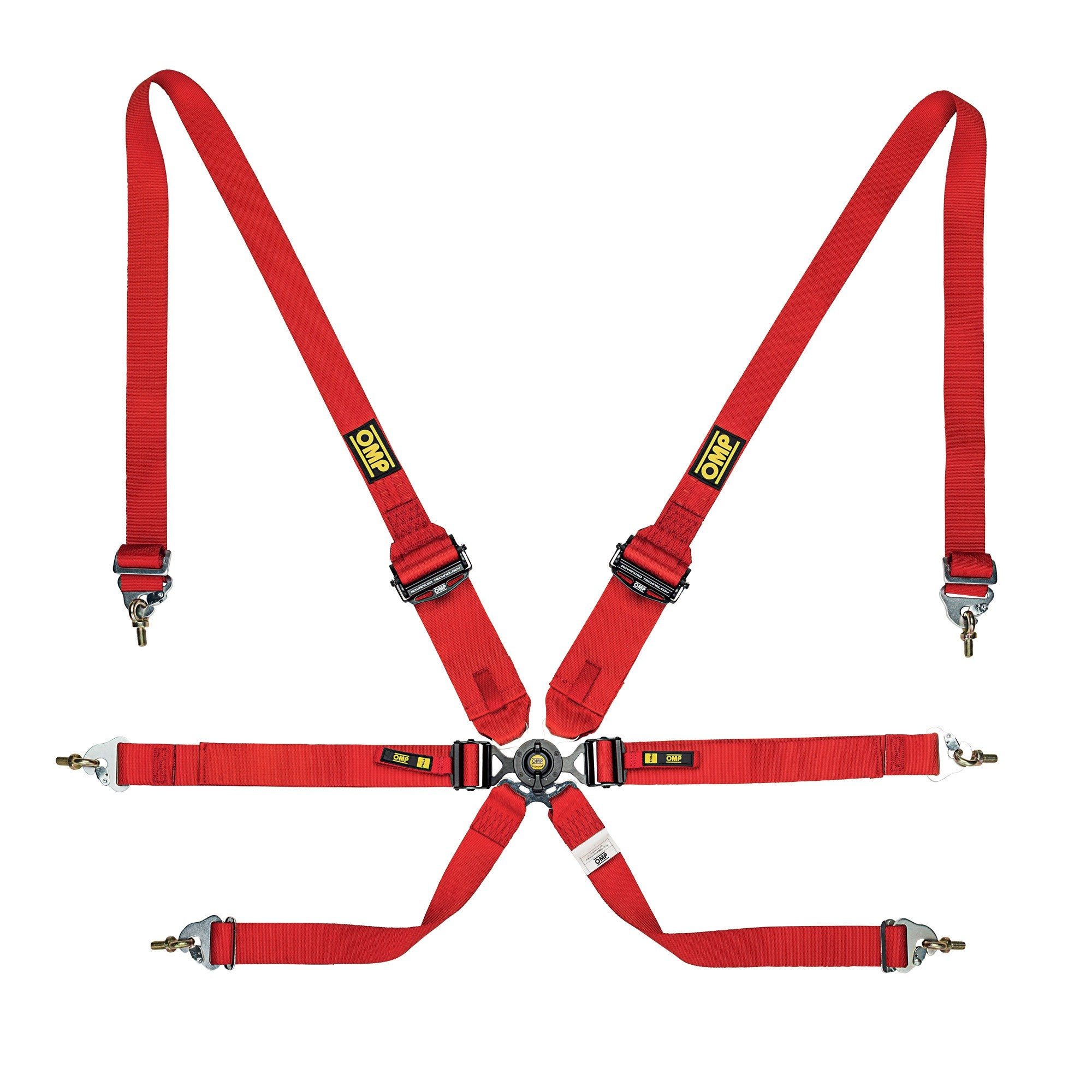 OMP RACING HARNESS ENDURO