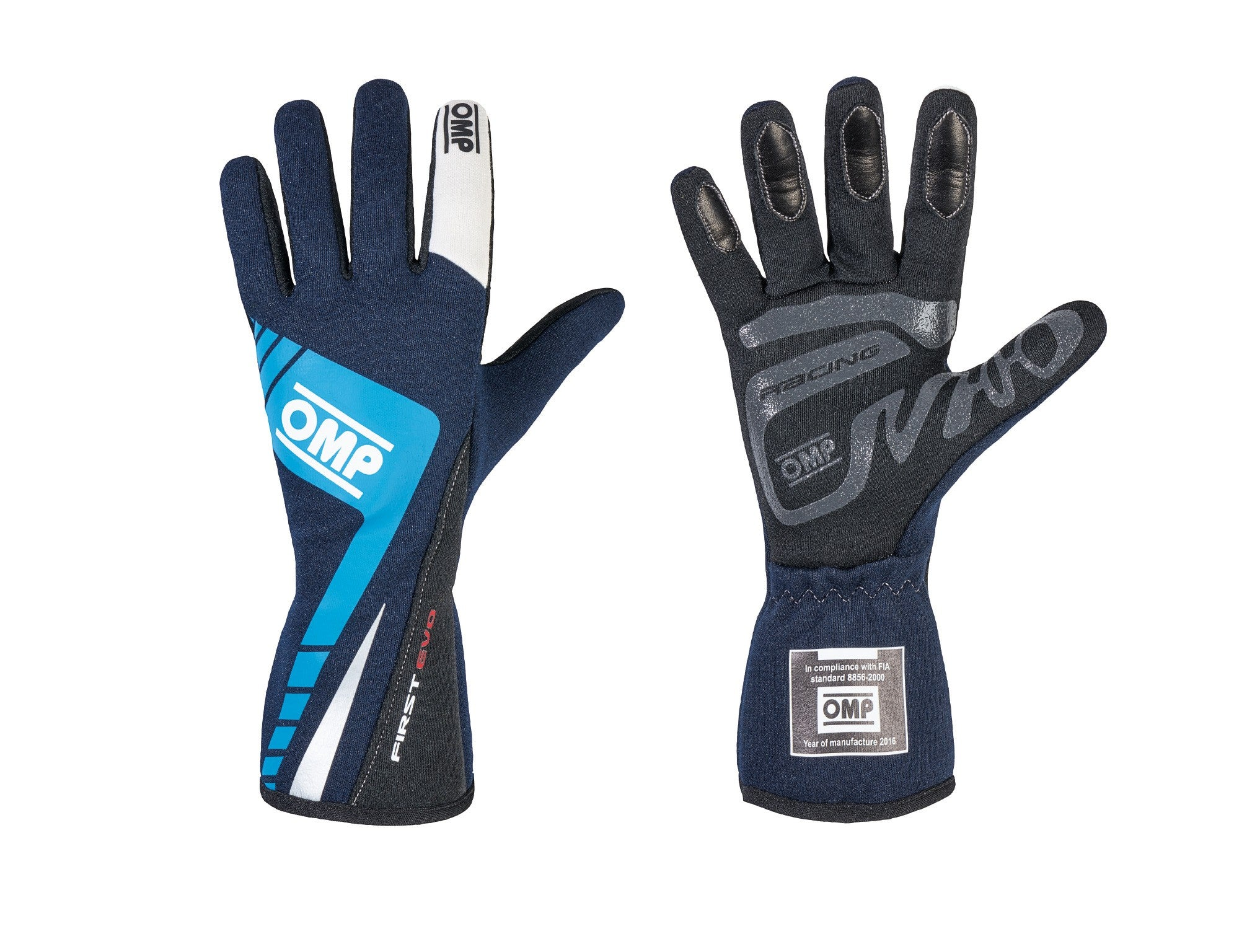 OMP NOMEX RACING GLOVES FIRST-EVO