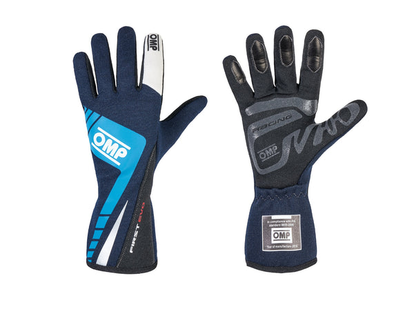 OMP FIRST-EVO NOMEX RACING GLOVES