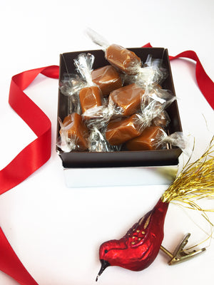 Classic Sea Salt Caramels - 4 oz. Holiday Gift Box