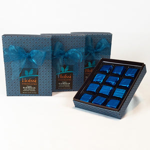 Organic Dark Chocolate Hazelnut Gianduja 4.5 oz. Gift Box