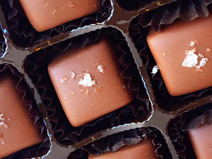 Milk Chocolate Sea Salt Caramels - 7 oz. Gift Box