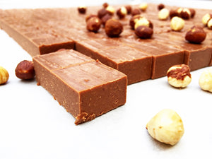 Organic Dark Chocolate Hazelnut Gianduja 3 oz. Cello Bag